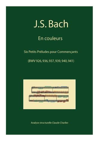 Bach en Couleurs (6 préludes) - Analyse Musicale - CHARLIER C. - page de garde