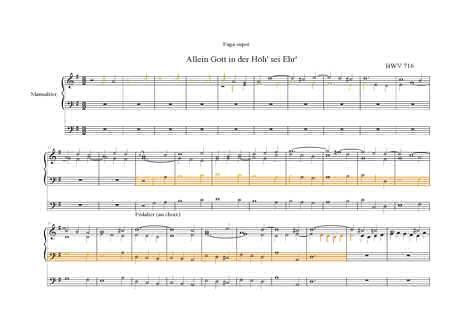 Bach en Couleurs (Deux pièces orgue) - Analyse Musicale - CHARLIER C. - Fiche Pédagogique