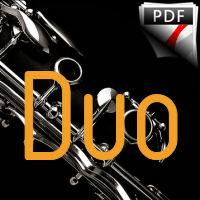 10 Duos Variés - Duo de Clarinettes - DIVERS