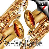 10 Duos Variés - Duo de Saxophones - DIVERS