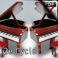 5 Miniatures - Duo de Piano - LYONNAZ Paul