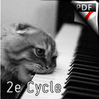 A 4 pattes - Piano 4 Mains - FRELAT G.