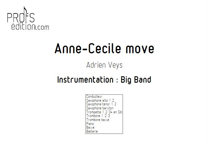 Anne-Cécile move - Big Band - VEYS A. - page de garde