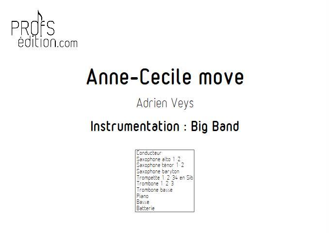 Anne-Cécile move - Big Band - VEYS A. - page de garde