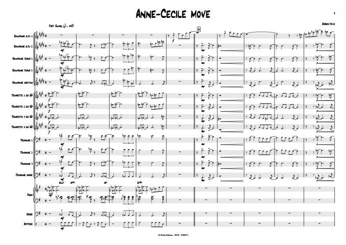 Anne-Cécile move - Big Band - VEYS A. - app.scorescoreTitle