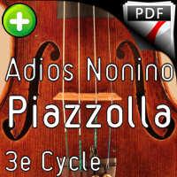 Adios Nonino - Quatuor à Cordes - PIAZZOLA A.