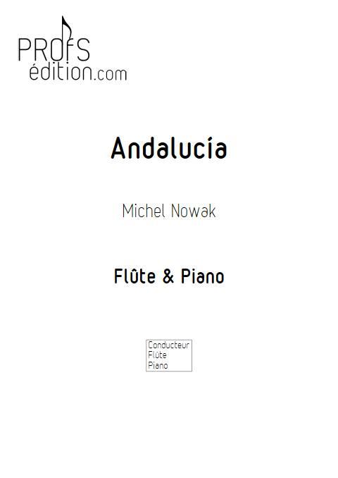 Andalucía - Flûte & Piano - NOWAK M. - page de garde