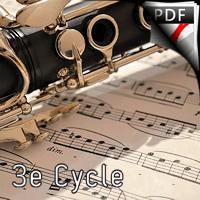 Aria - Duo Clarinette et Piano - ROUSSEL A.