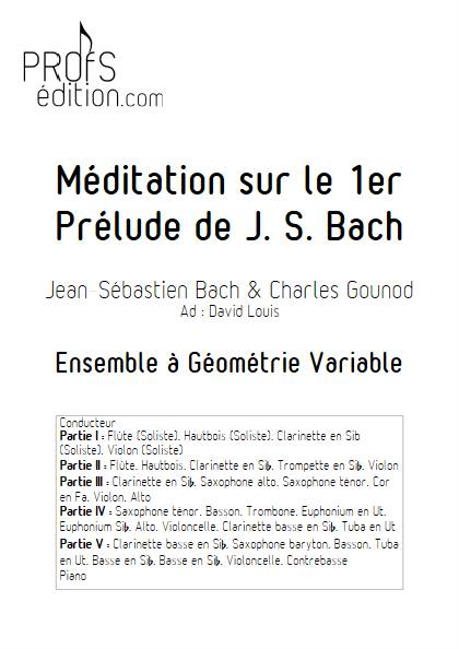 Ave Maria - Ensemble Variable - BACH GOUNOD - page de garde