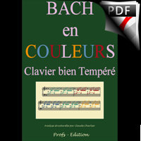 Clavier Bien Tempéré 2 BWV 873 - Analyse - CHARLIER C.