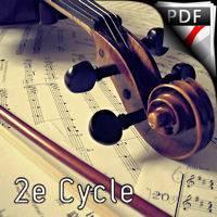 Berçeuse - Violon et Piano - FAURE G.