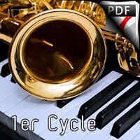 Bergerade - Saxophone Piano - NOWAK M.