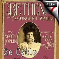 Bethena Waltz - Ensemble de Flûtes - JOPLIN S.
