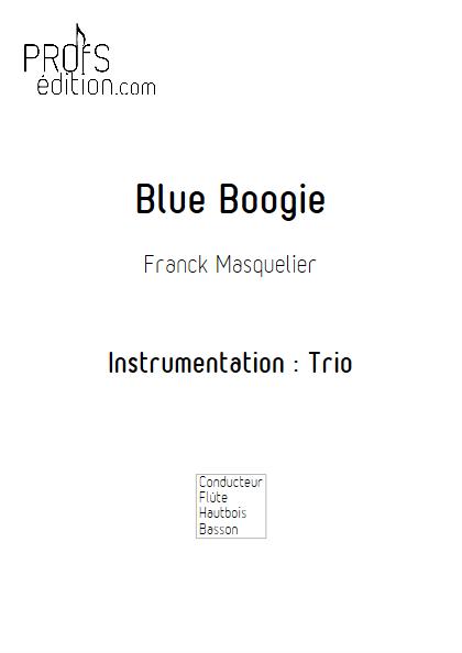 Blue Boogie - Trio - MASQUELIER F. - page de garde