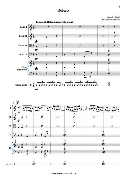 Boléro - Ensemble Variable - RAVEL M. - app.scorescoreTitle