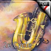 Burlesco Saxo - Saxophone & Piano - NOWAK M.