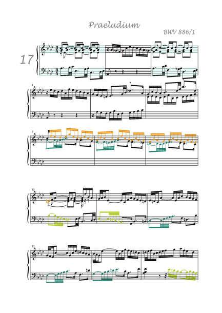 Clavier Bien Tempéré 2 BWV 886 - Analyse - CHARLIER C. - app.scorescoreTitle