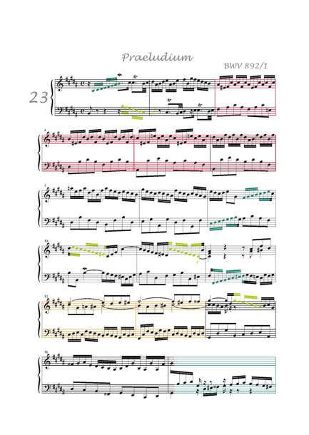 Clavier Bien Tempéré 2 BWV 892 - Analyse - CHARLIER C. - app.scorescoreTitle