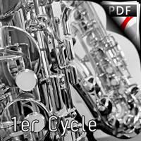 Cantique de Jean Racine - Quatuor de saxophones et clavier - FAURE G.