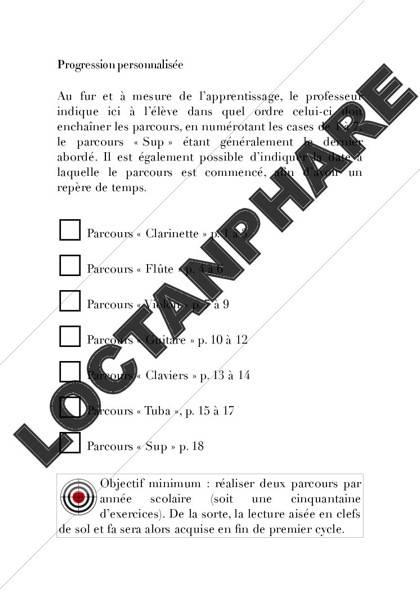 Carnet de notes - Formation Musicale - KUNTZMANN S. - Fiche Pédagogique