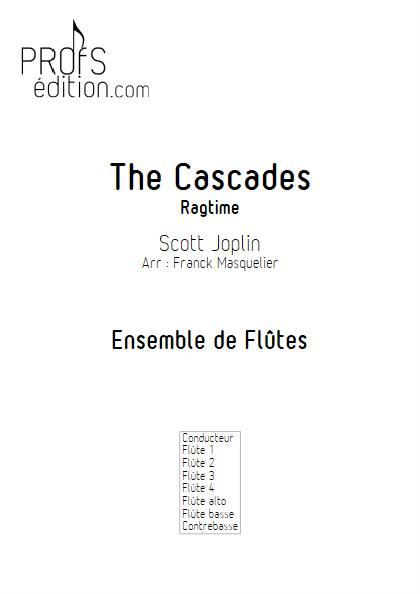 The Cascades - Ensemble de Flûtes - JOPLIN S. - page de garde