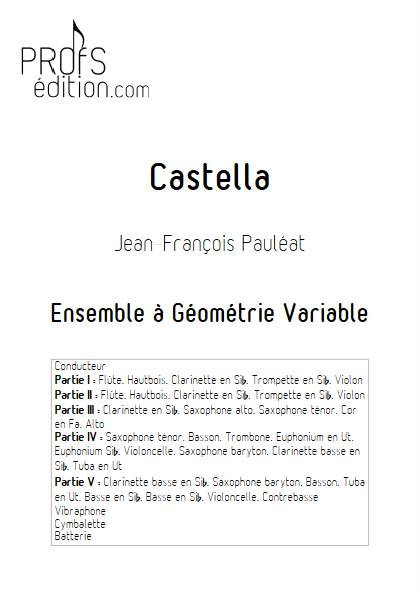 Castella - Ensemble Variable - PAULEAT J. F. - page de garde