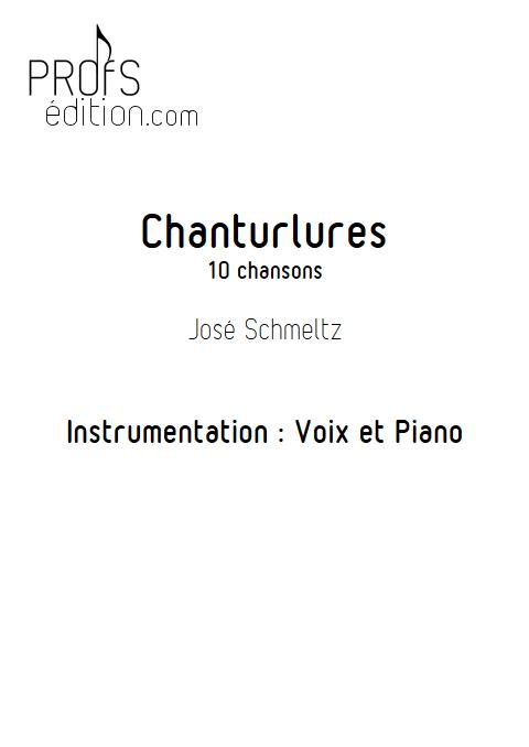 Chanturlure - Chœur & Piano - SCHMELTZ J. - page de garde