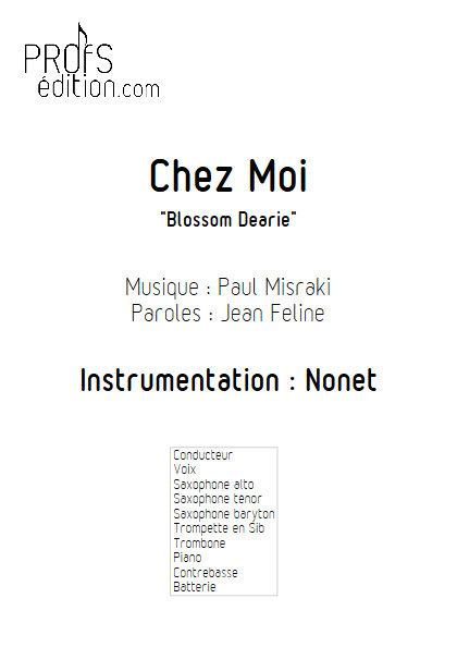 Chez Moi - Nonet - MISRAKI P. - page de garde