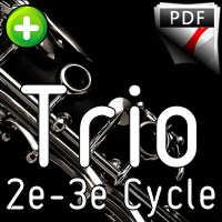 Adios Nonino - Trio de Clarinettes - PIAZZOLA A.