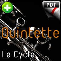 Concerto pour Clarinette KV622 (Adagio) - Quintette Clarinettes (Clar Sib) - MOZART W. A.