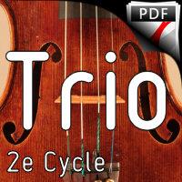 Una Lágrima - Trio à Cordes - MOUREY C.