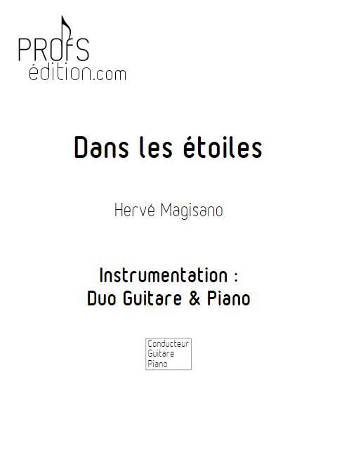 Dans les étoiles - Piano et Guitare - MAGISANO H. - page de garde