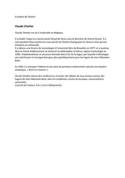 Obras de musica para tecla, arpa y vihuela - Poster - CHARLIER C. - Fiche Pédagogique