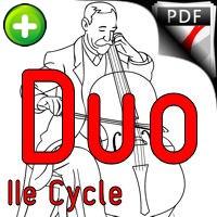 5 Inventions - Duo Violoncelles - BACH J. S.