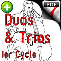 12 Chansons - Duos & Trios Violoncelles - TRADITIONNEL