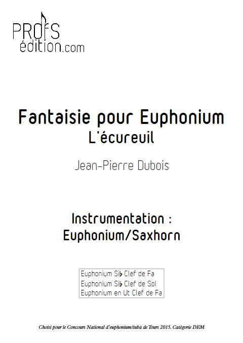 Fantaisie - Euphonium Solo - DUBOIS J-P - page de garde