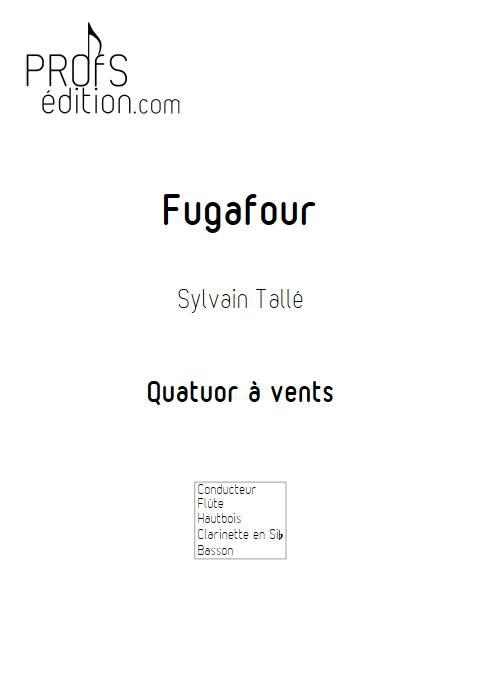 Fugafour - Quatuor à vents - TALLE S. - page de garde