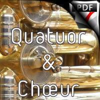 Les musiciens du Grand Nord - Quatuor de Cuivres & Chœur - FRELAT G.