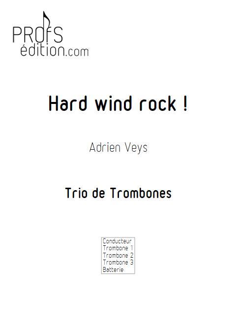 Hard wind rock ! - Trio de Trombones - VEYS A. - page de garde