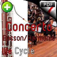 Concerto pour Basson - Orchestre Harmonie - ROSSINI G.