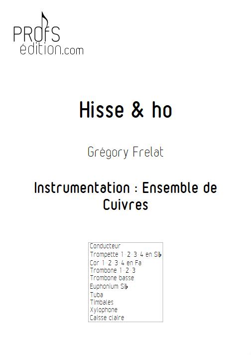 Hisse & Ho - Ensemble de Cuivres - FRELAT G. - page de garde