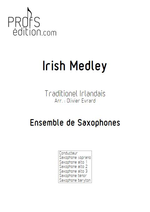 Irish Medley - Ensemble de Saxophones - TRADTIONNEL IRLANDAIS - page de garde