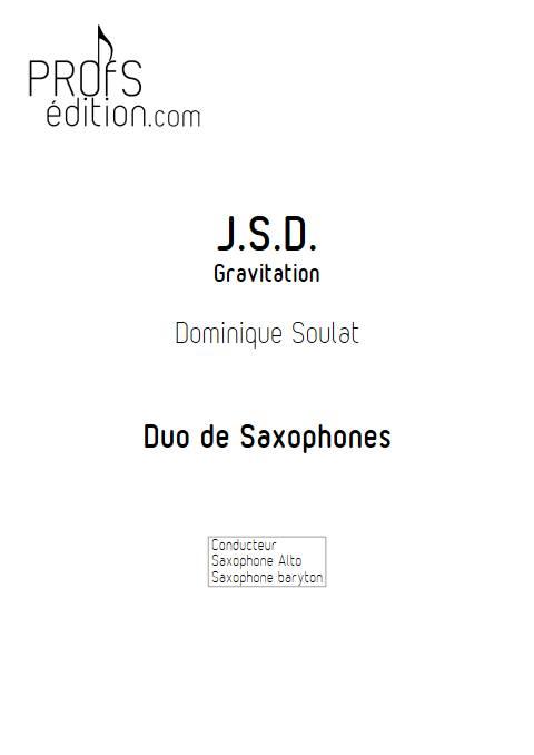 JSD - Duo de Saxophones - SOULAT D. - page de garde