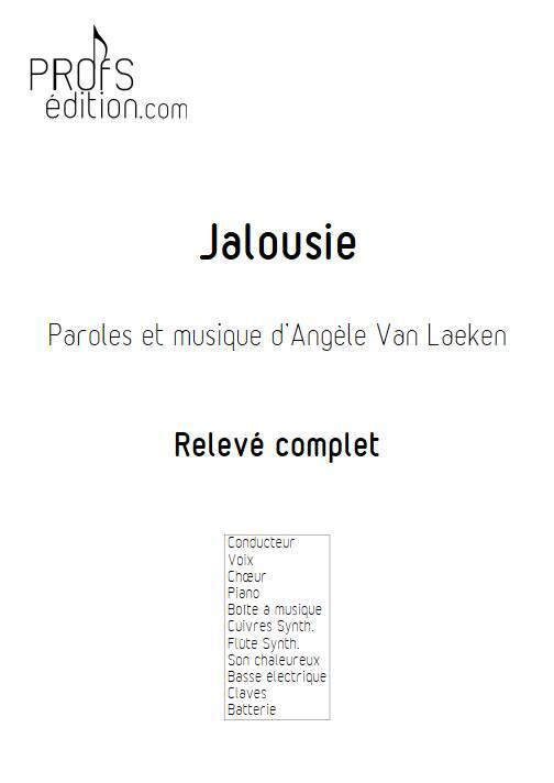 Jalousie - Relevé - ANGELE - page de garde