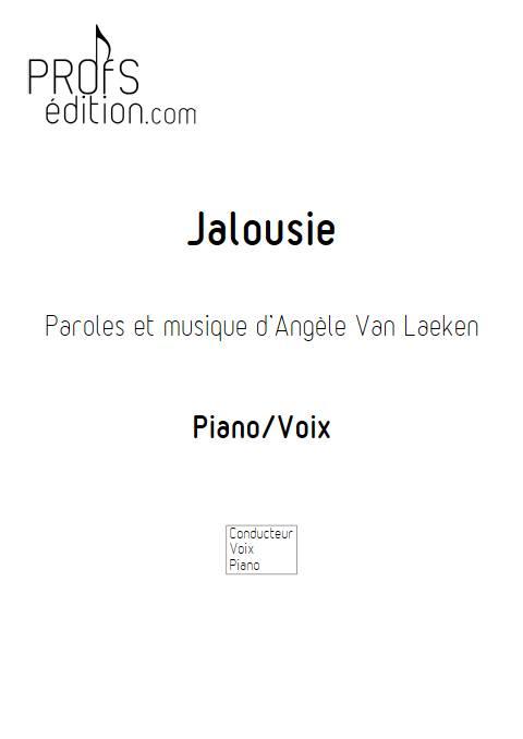 Jalousie - Piano Voix - ANGELE - page de garde