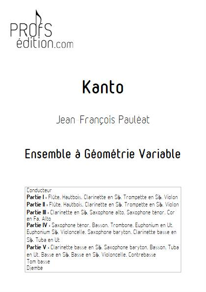 Kanto - Ensemble Variable - PAULEAT J-F - page de garde