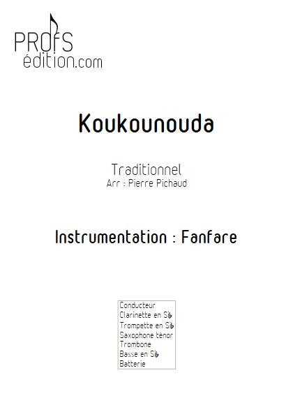 Koukounouda - Fanfare - TRADITIONNEL - page de garde
