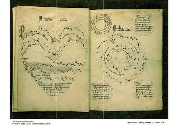 Le manuscrit de Chantilly - Poster - CHARLIER C. - Partition