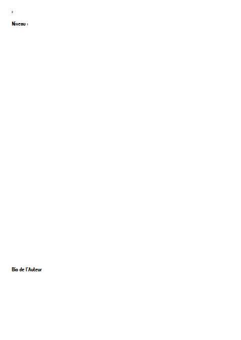 Mélodie confinée - Orchestre d'harmonie - LEMAIRE P. - Fiche Pédagogique