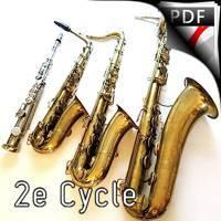 Ma mère l'Oye, Pavane... - Quatuor Saxophones - RAVEL M.